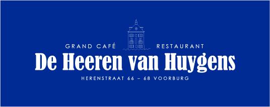logo van Grand Café Restaurant de Heeren van Huygens